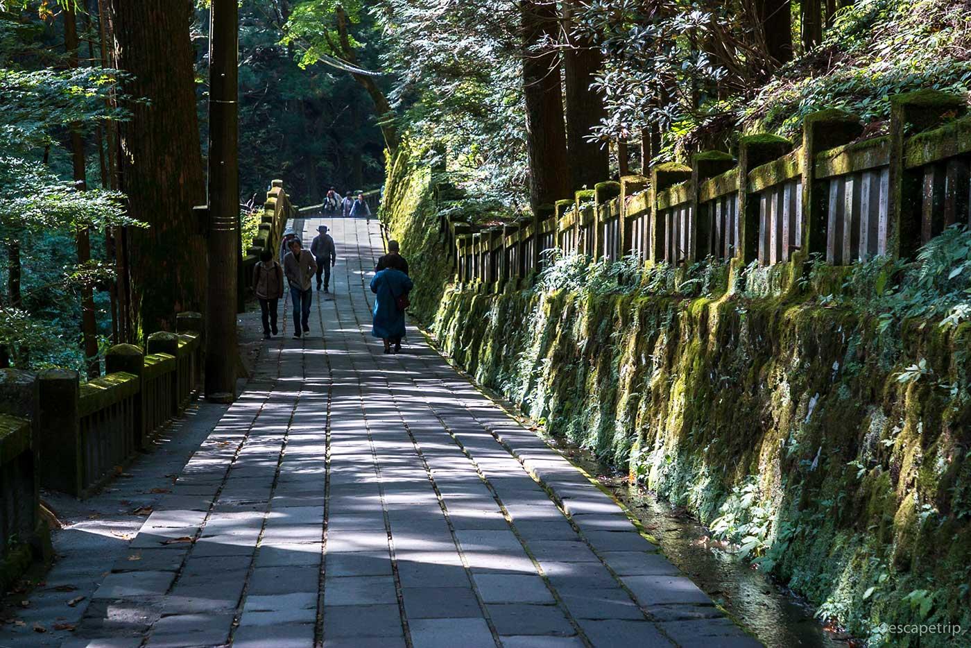 榛名神社の境内