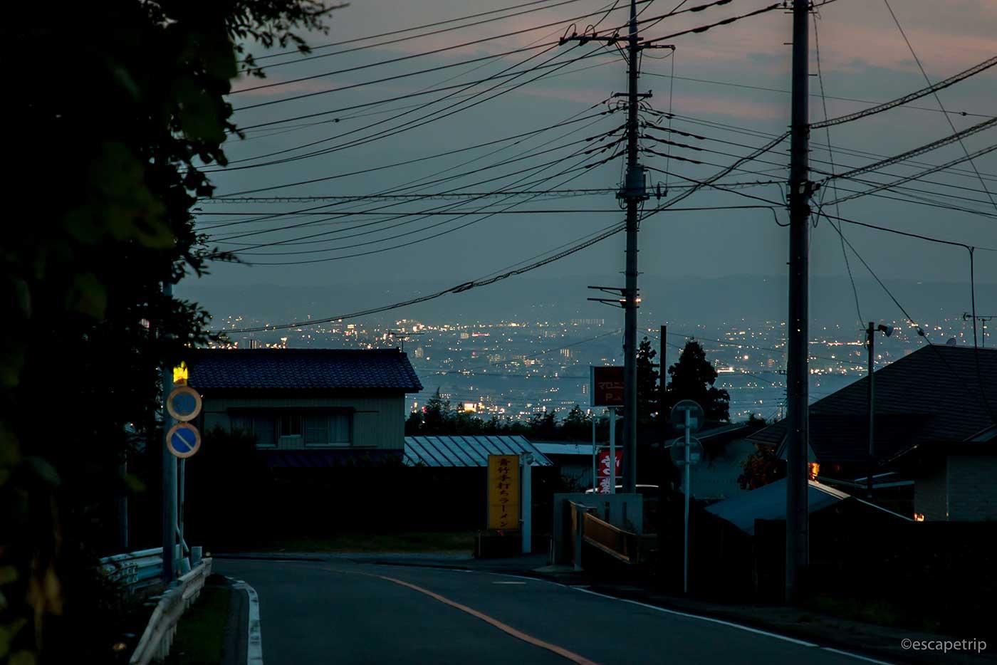 前橋駅の明かり