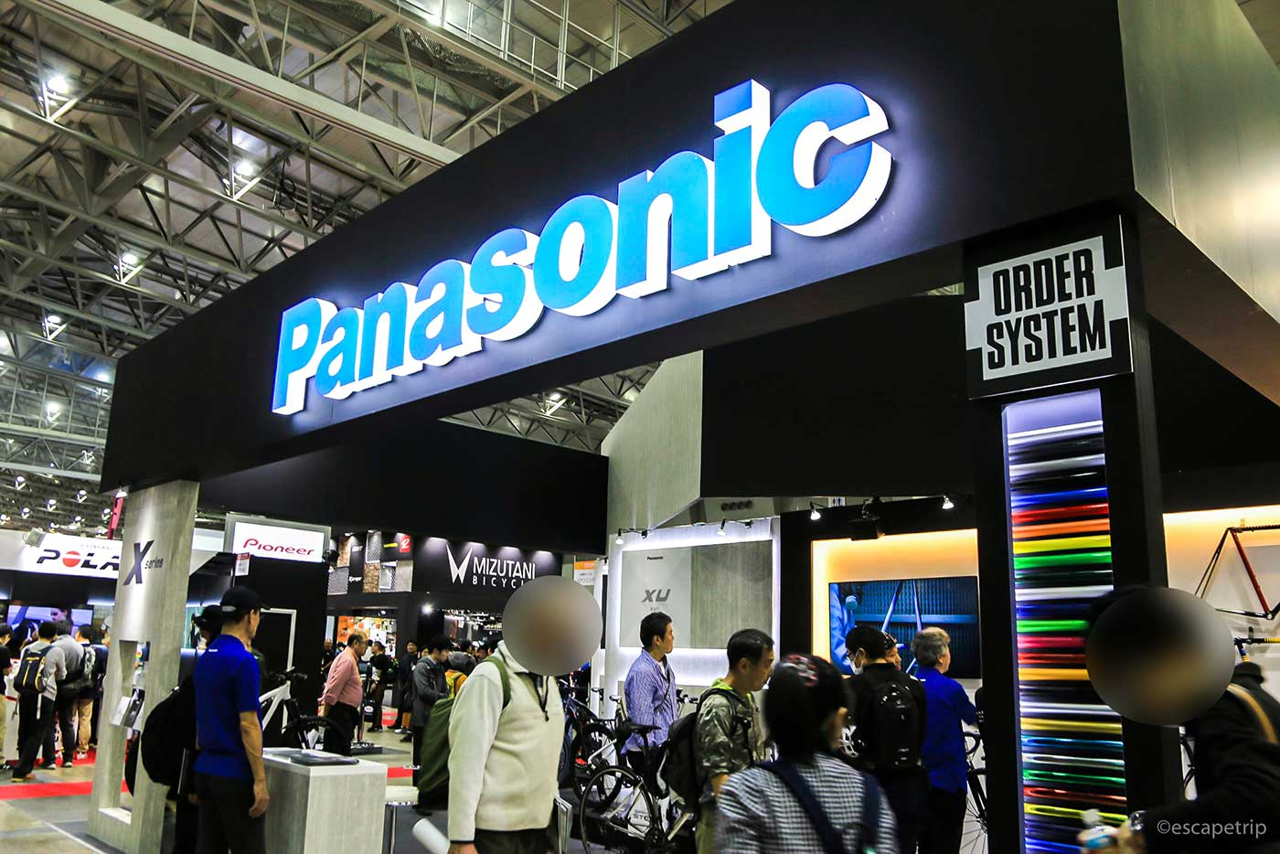 Panasonicのブース