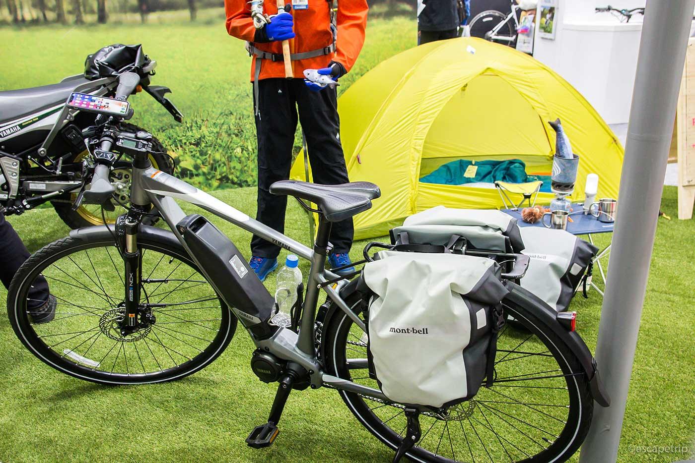 e-バイクとバイクパッキング