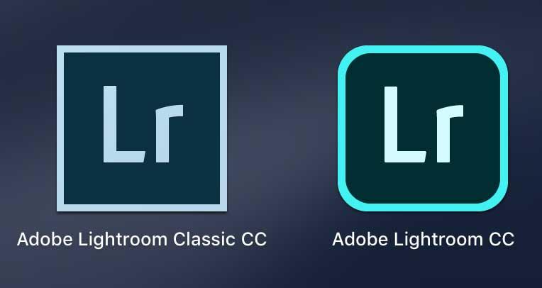 2つのLightroomアイコン