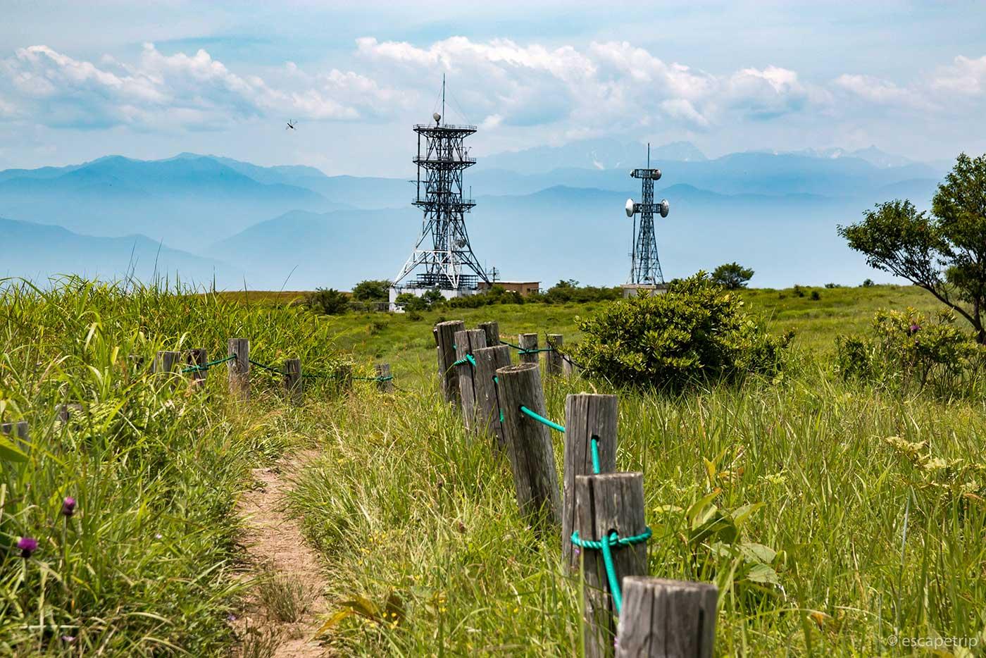高ボッチ高原の風景その2