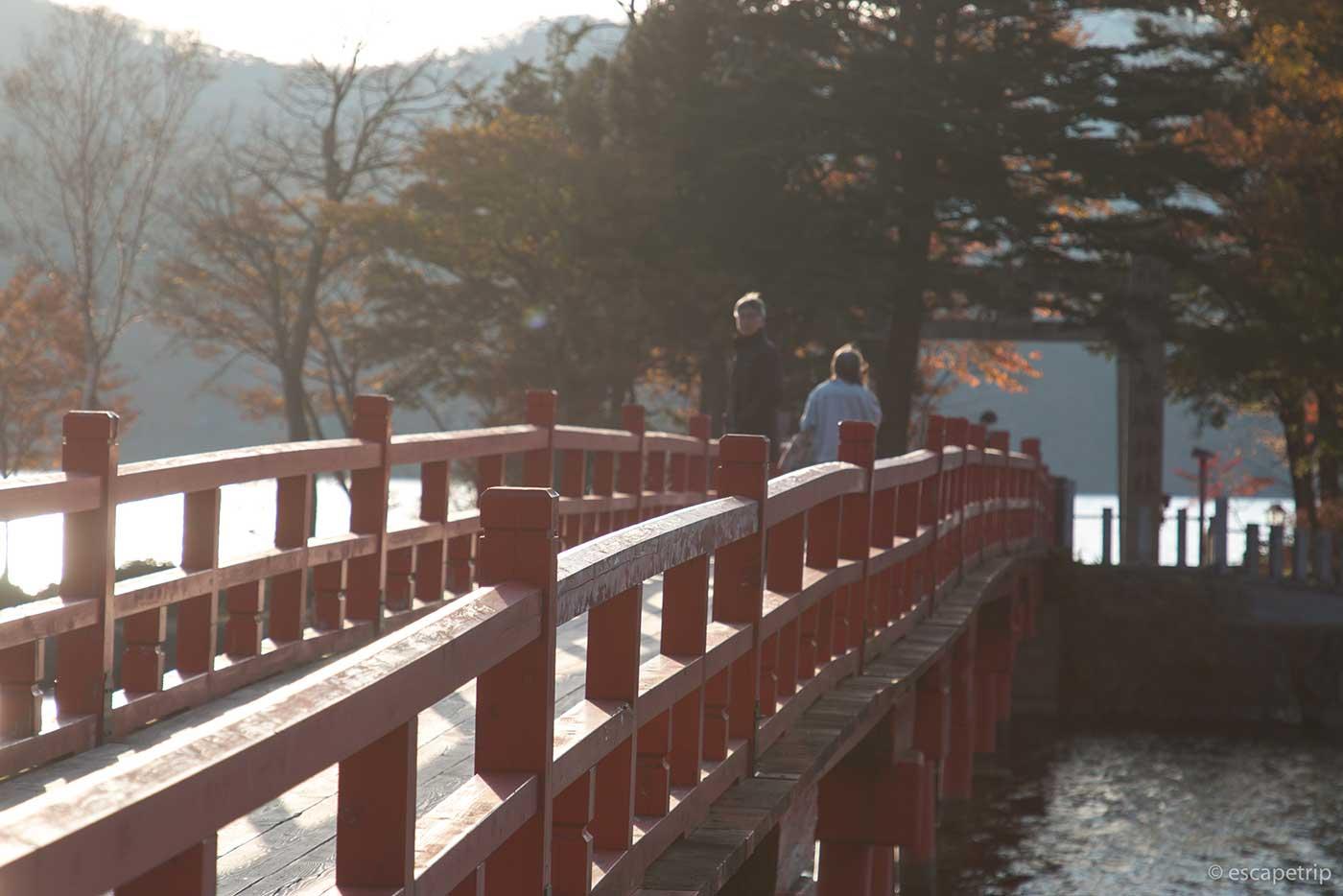 赤城神社の橋