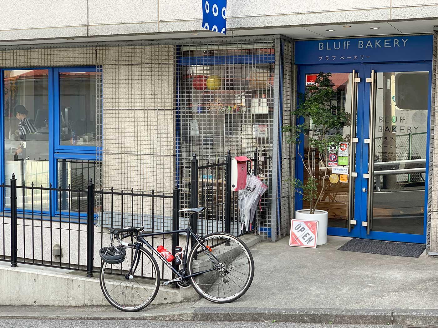 パン屋と自転車