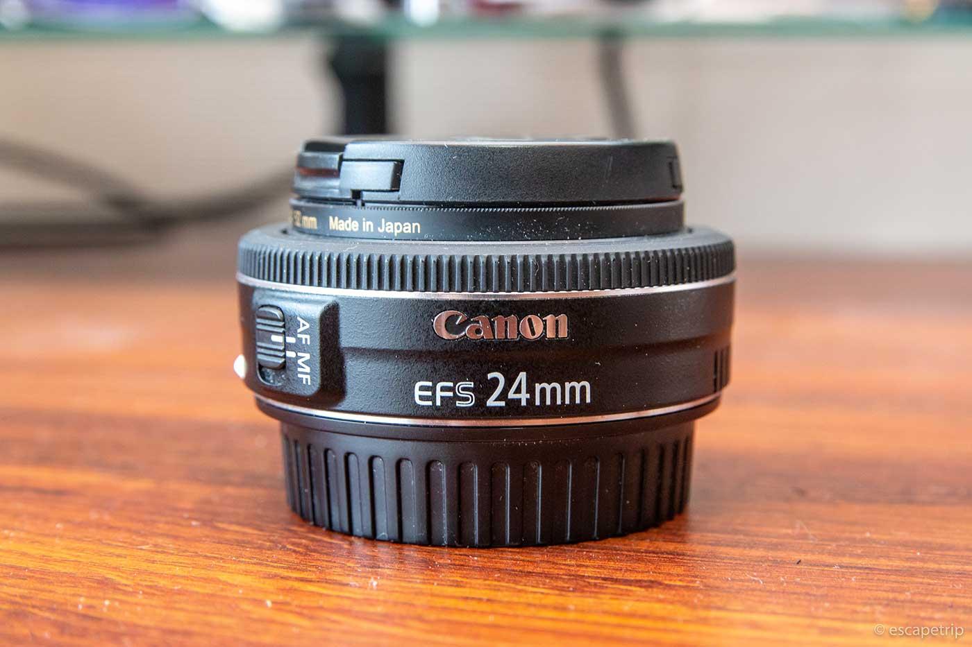 EF-S24mm F2.8 STMの外観