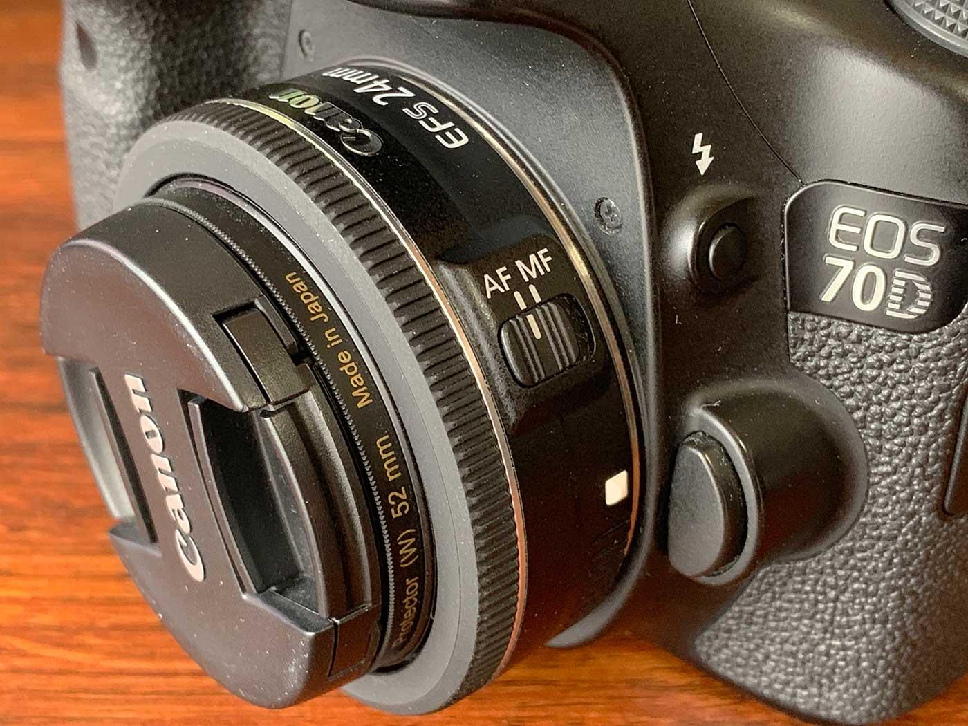 EF-S24mm F2.8 STMのAF/MFスイッチ