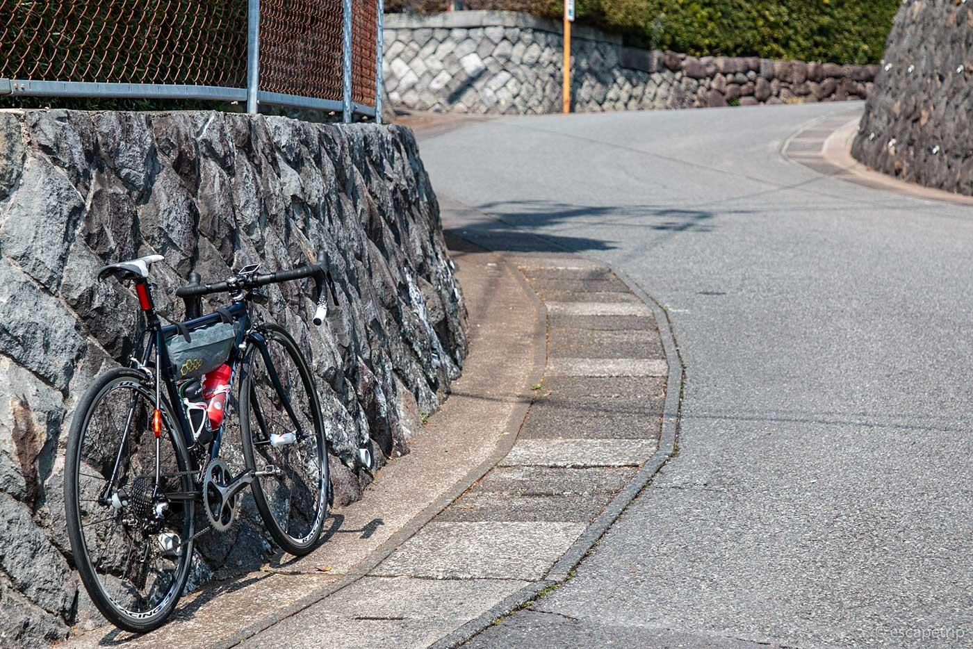 稲取細野高原への上り道