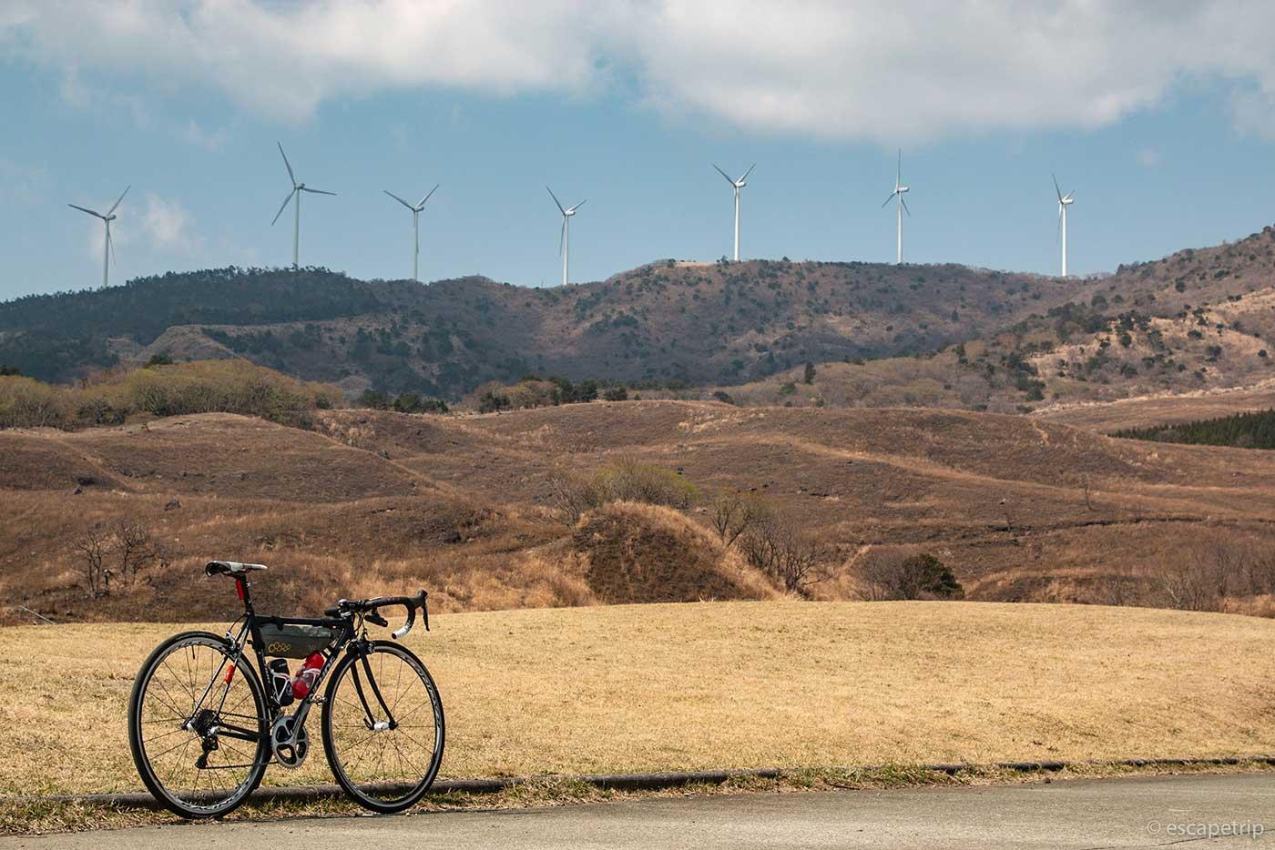 稲取細野高原とロードバイク