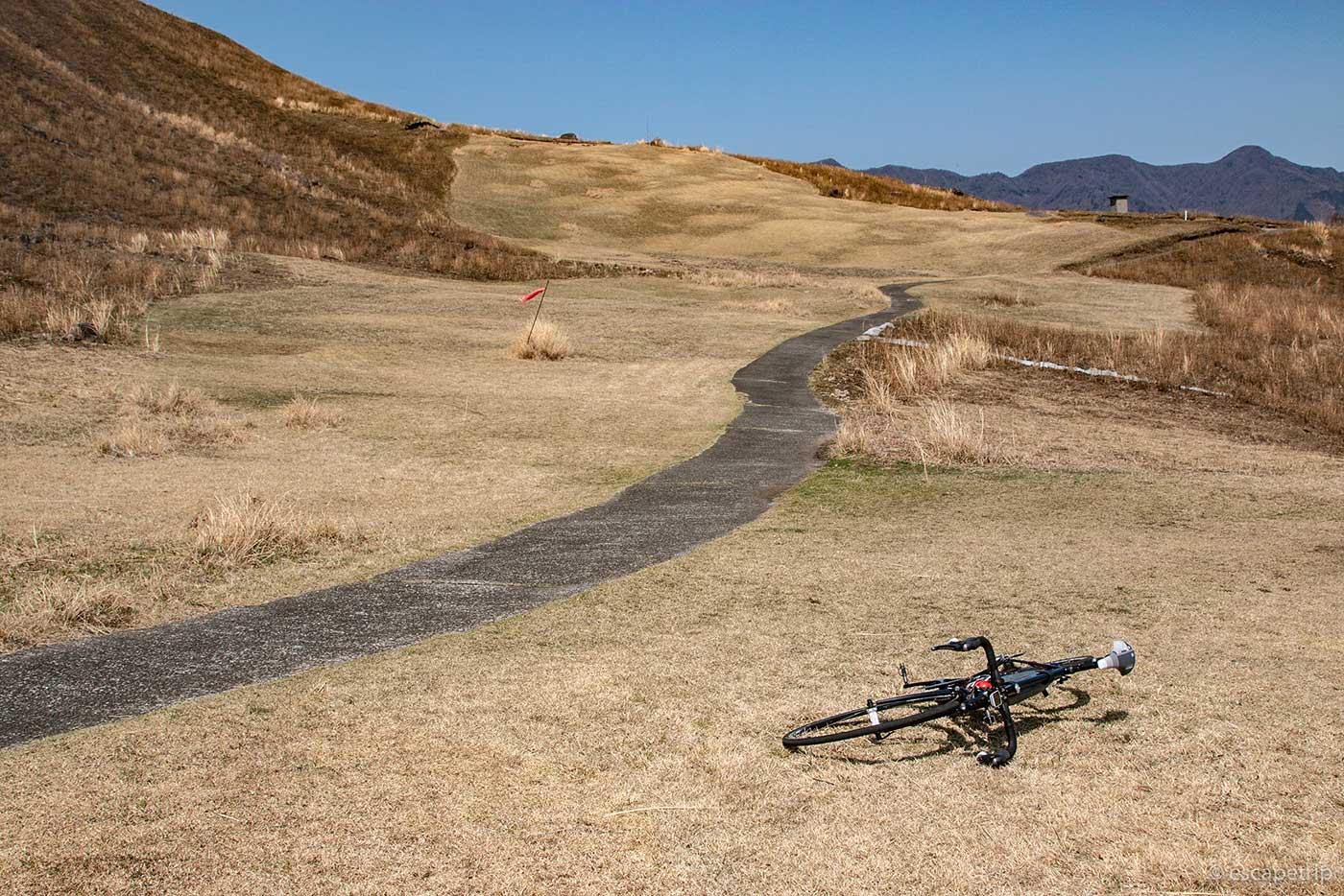 稲取細野高原の開けた場所