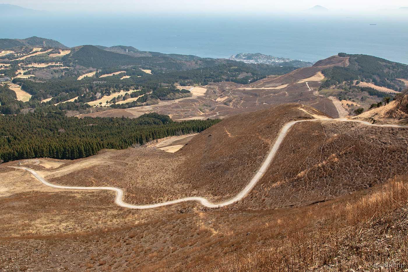 稲取細野高原のワインディングロードその1