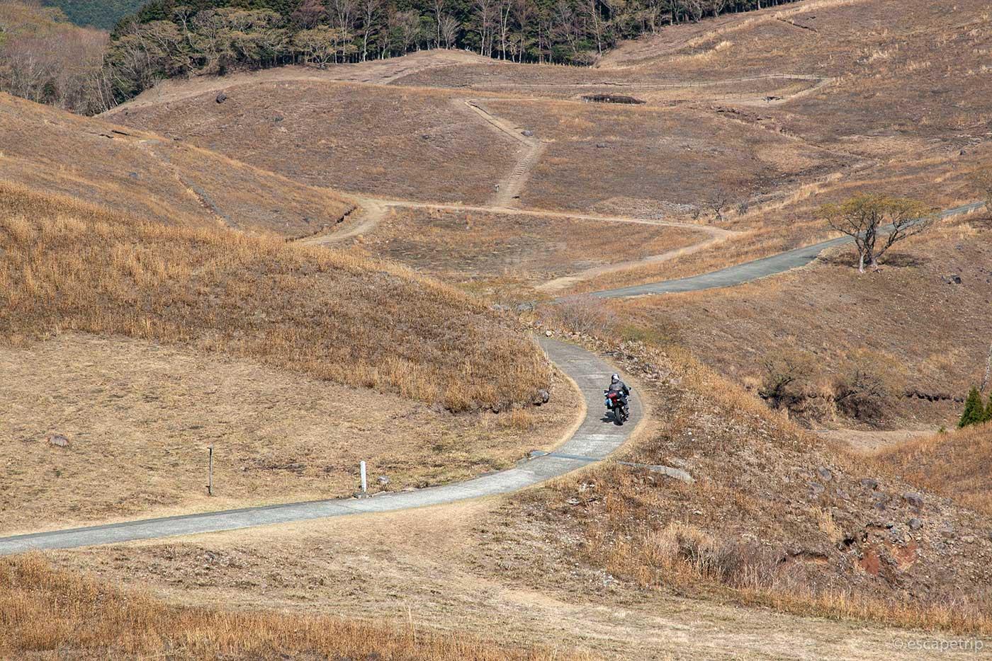稲取細野高原のワインディングロードその3