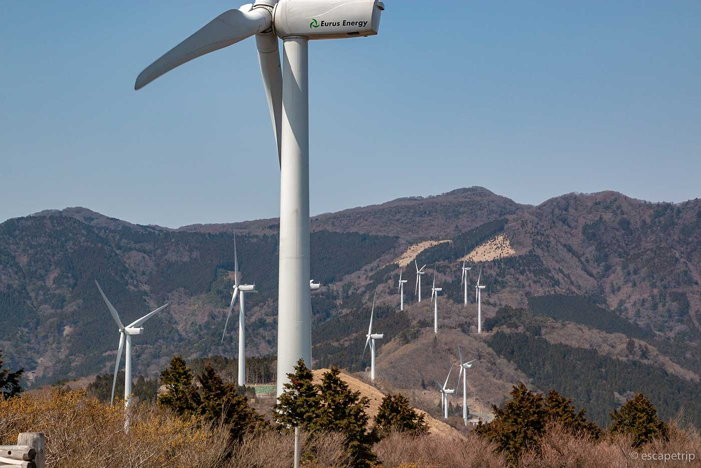 三筋山の風車