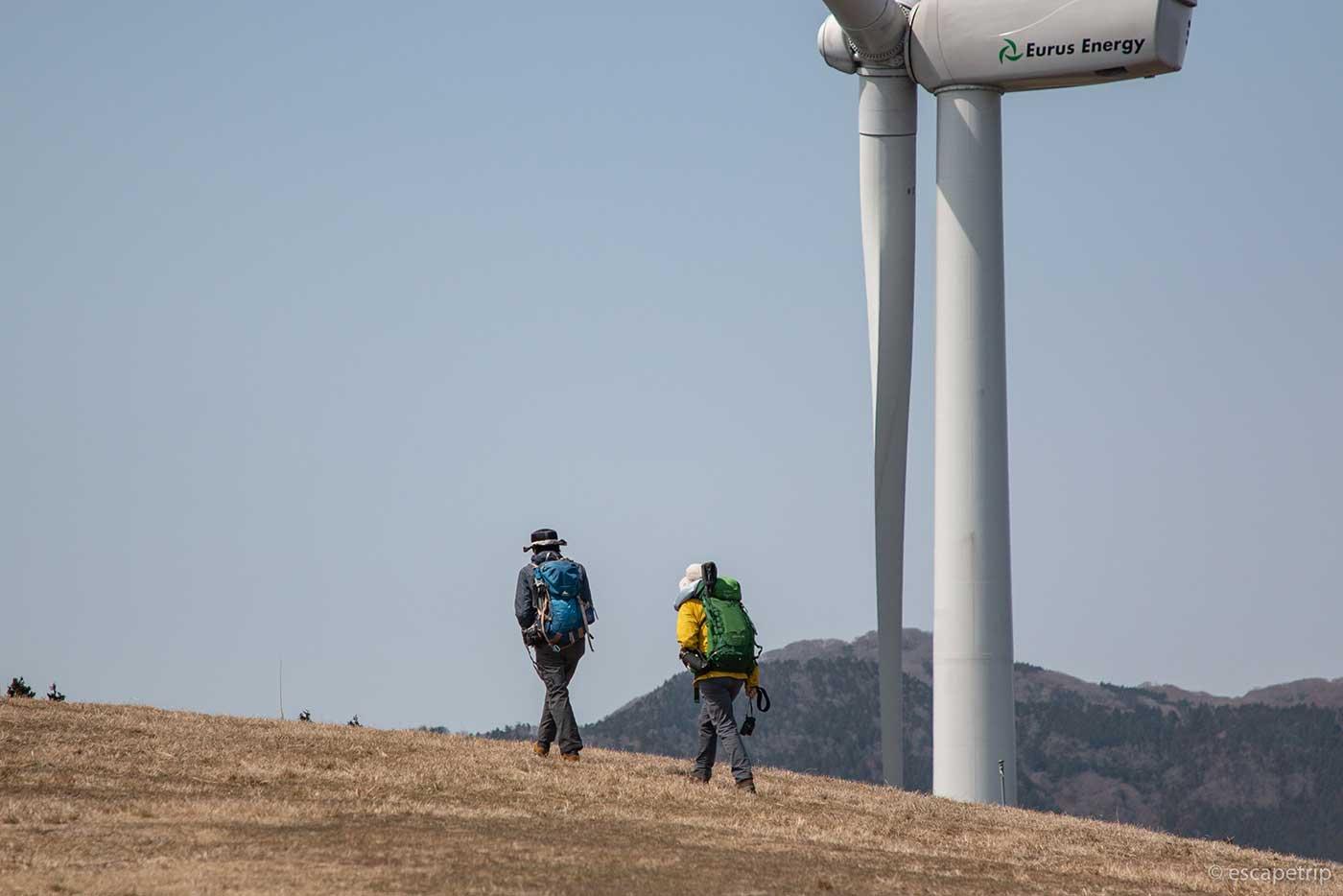 稲取細野高原の風車