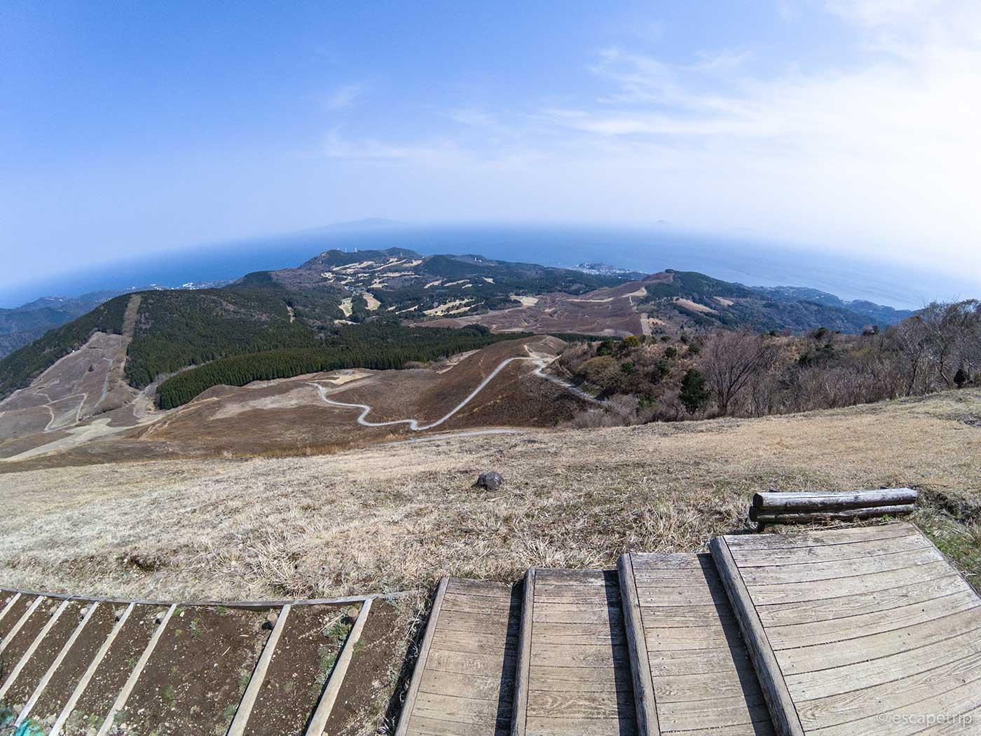 三筋山からの景色