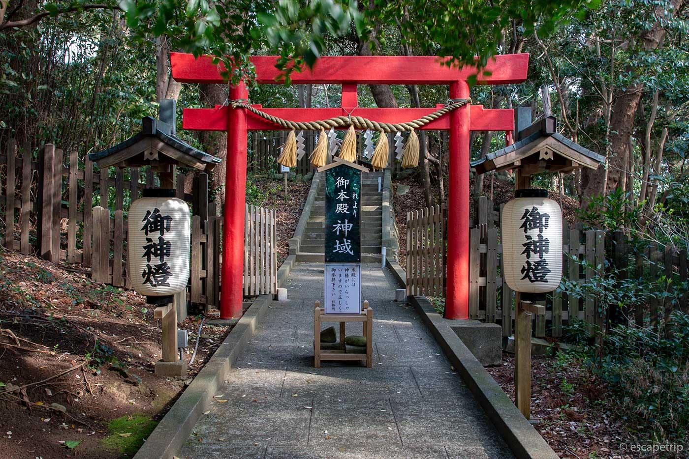 白浜神社の御本殿