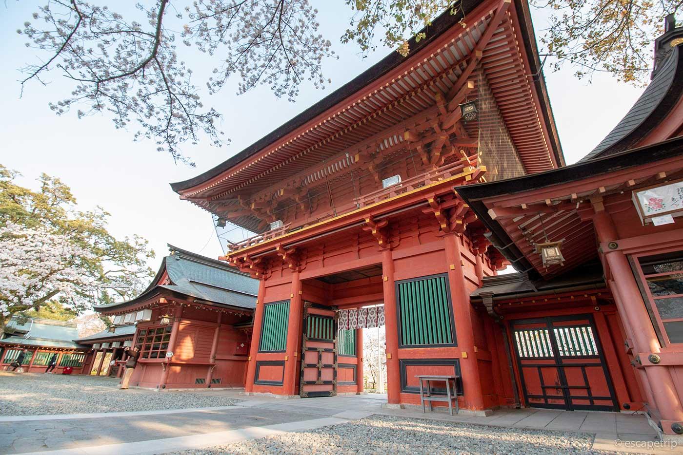 富士山本宮浅間大社の楼門