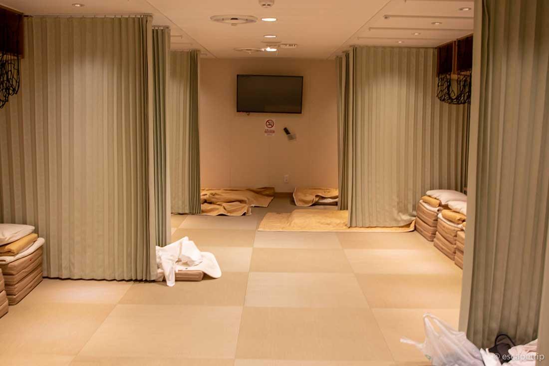 三井商船フェリーのツーリストの部屋