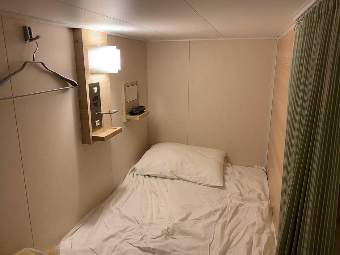 三井商船フェリーのコンフォートの部屋