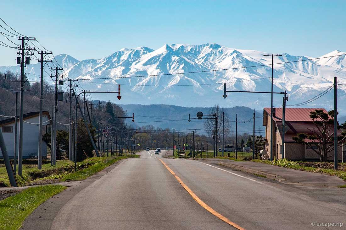 北見山地の山々