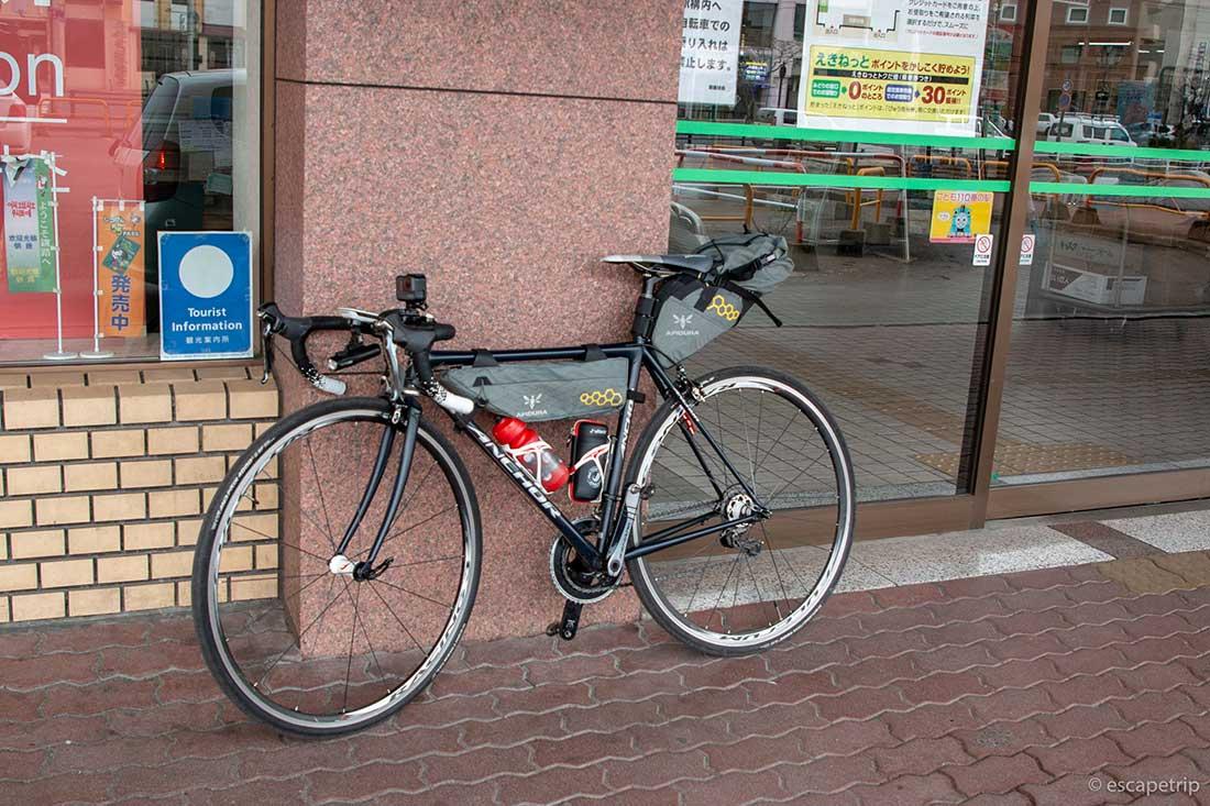 ロードバイク旅