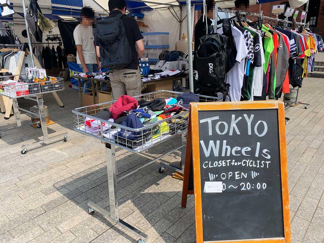 TOKYO WHEELSのブース