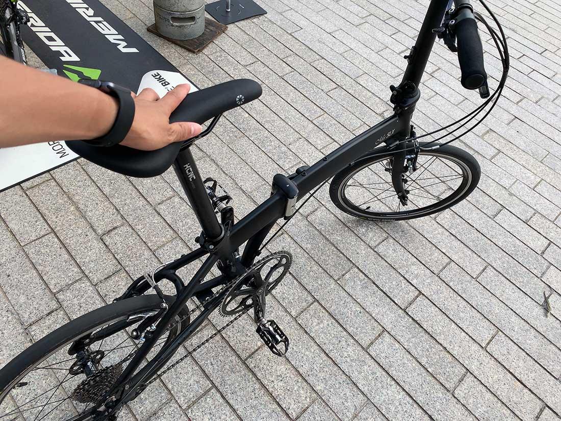 DAHONの折りたたみ自転車