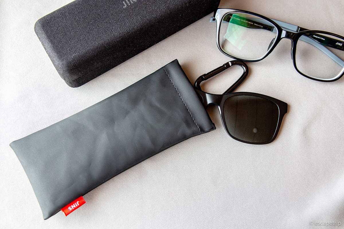 JINS Switchのサングラスプレート収納ケース