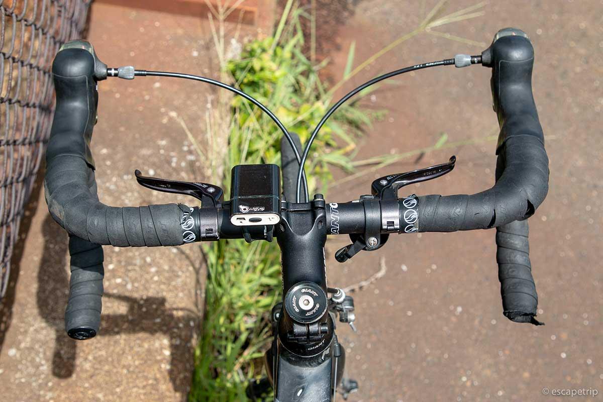 ロードバイクの補助ブレーキ