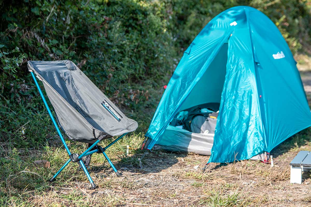 テントとミニチェア