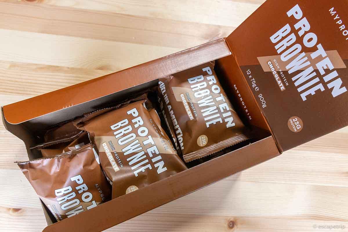 マイプロテインのチョコレートブラウニー