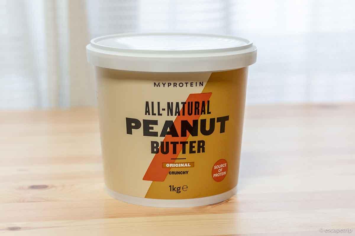 マイプロテインのピーナッツバター