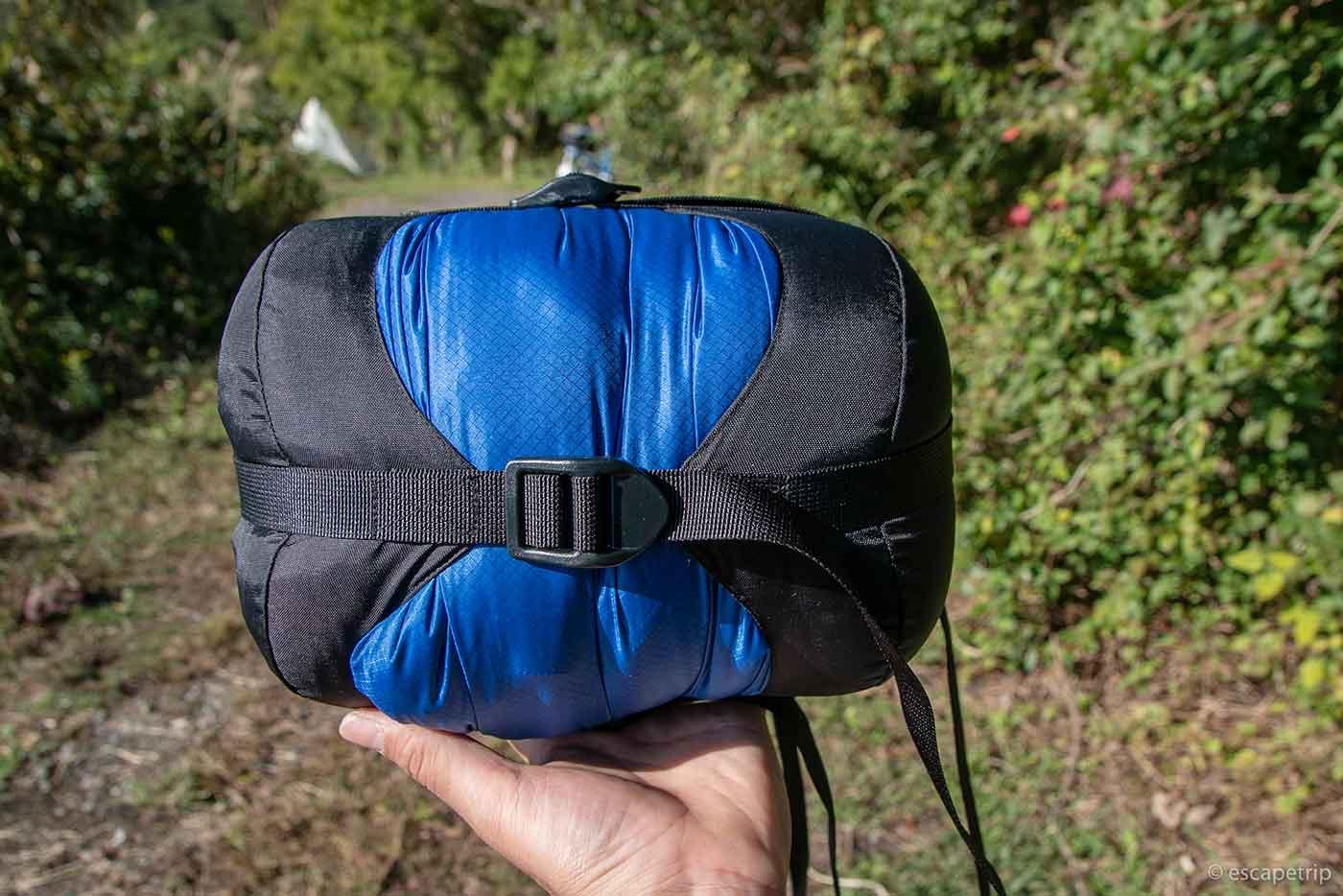 ISUKAのコンプレッションバッグ