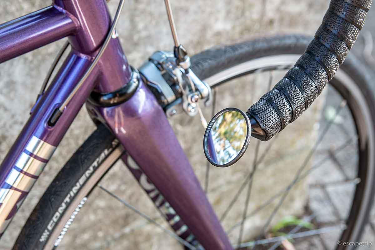 ロードバイク用のミラー