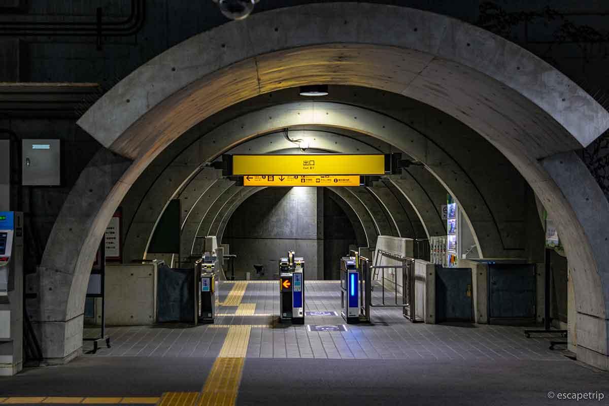 京阪の宇治駅