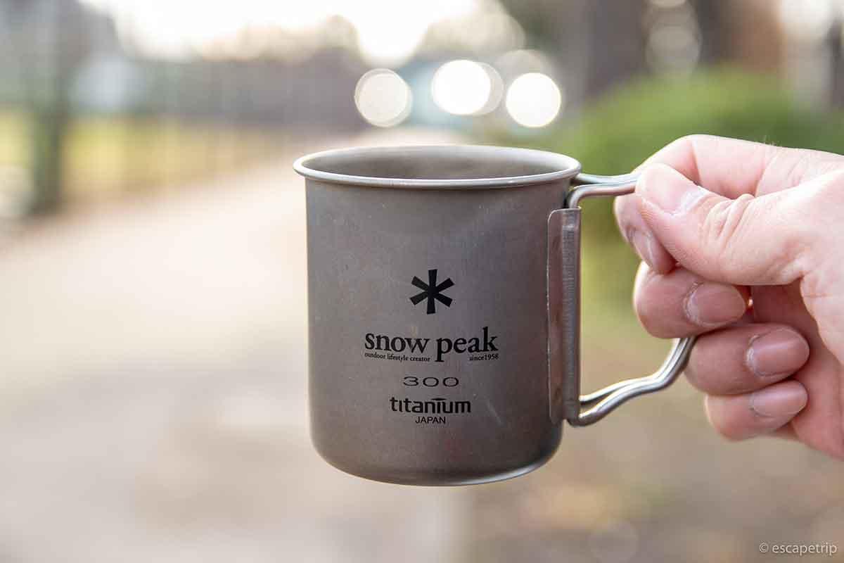 スノーピークのカップ