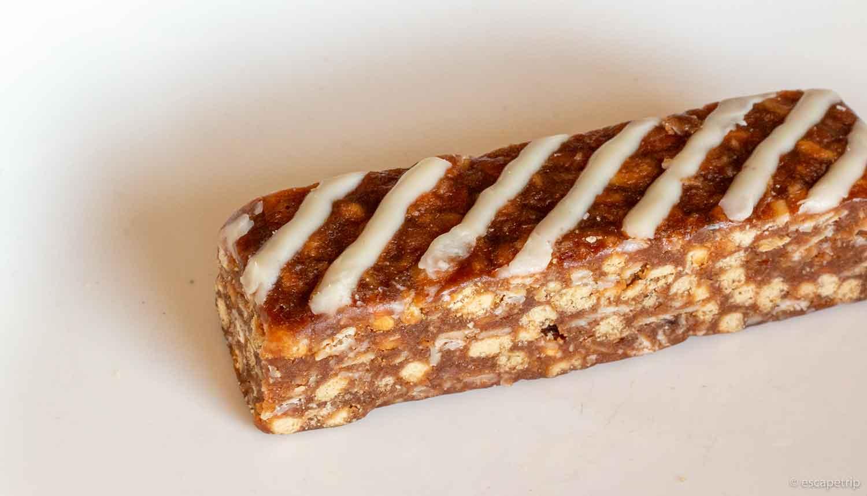 グラノーラバーのホワイトチョコレート味
