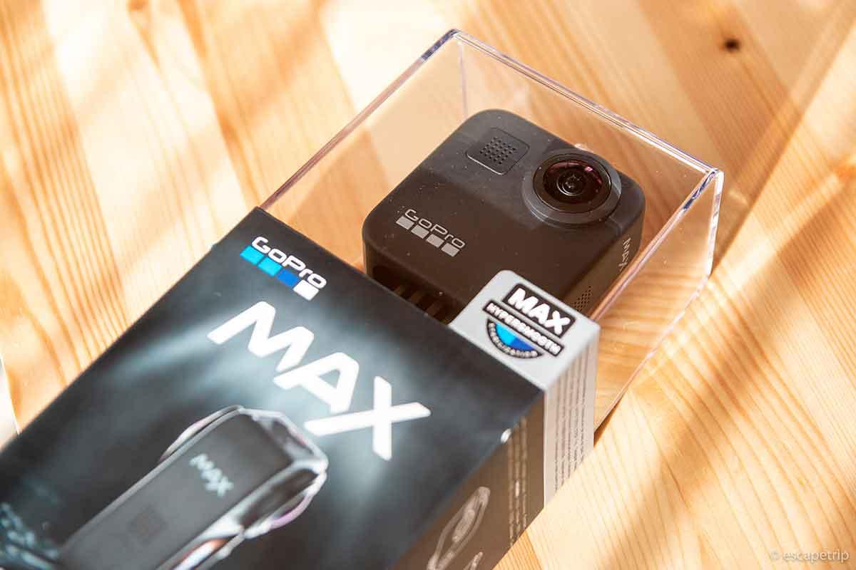 GoProのパッケージ