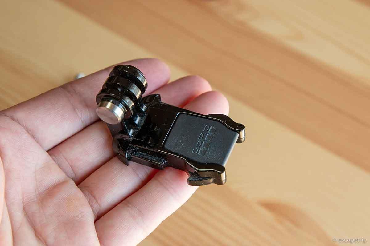 GoProのアタッチメント