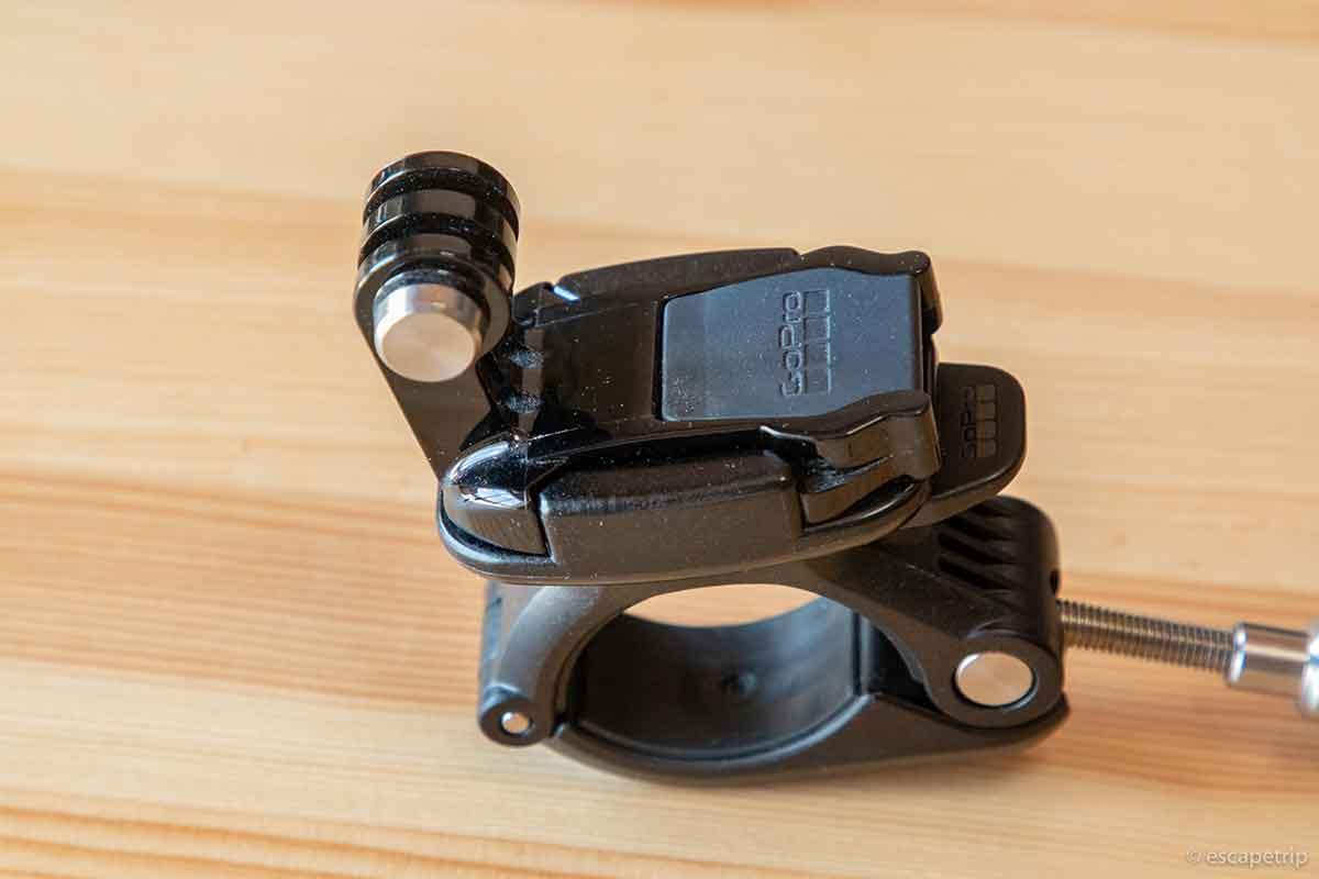GoProのハンドルバーマウント