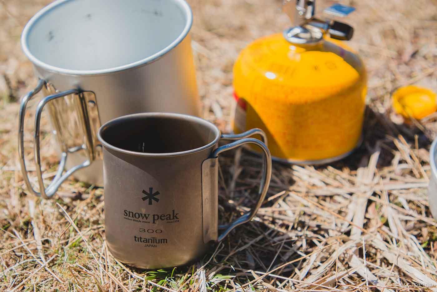 山頂で飲むコーヒー