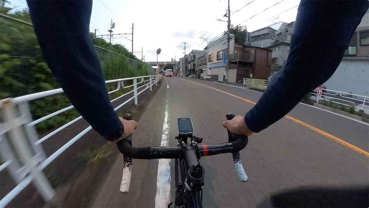 GoPro視点のサイクリング