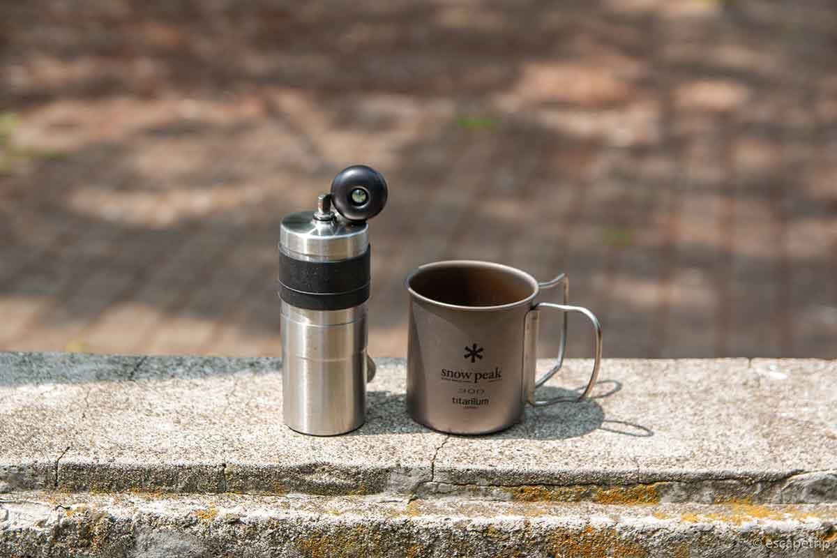 ポーレックスのコーヒーミル2ミニ