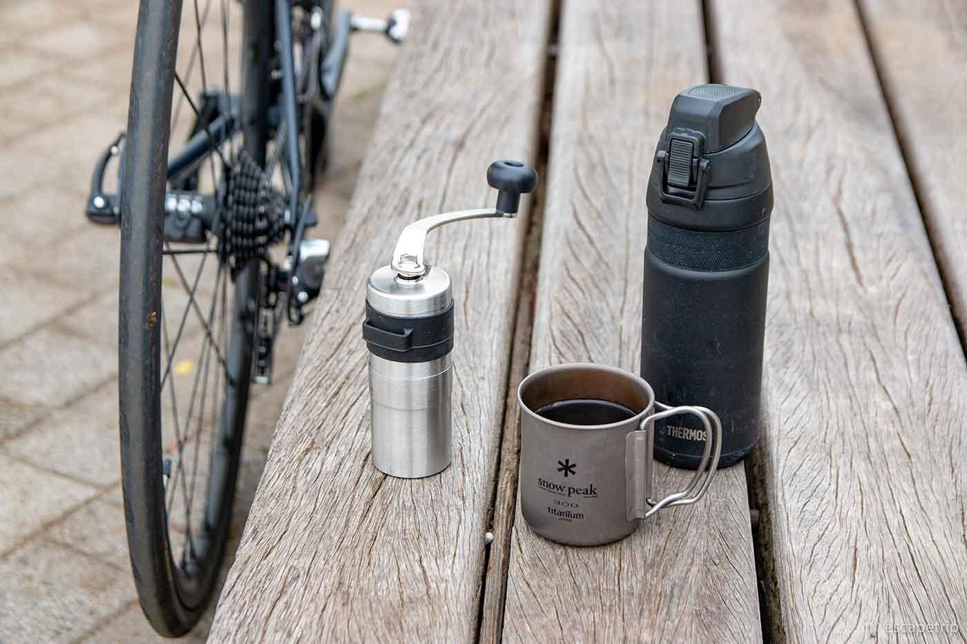 自転車でコーヒーライド