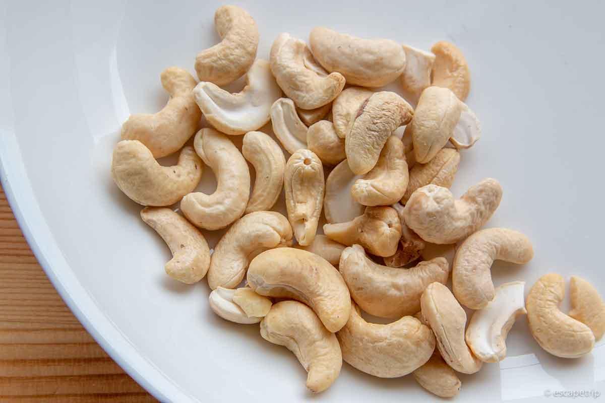 マイプロテインのカシューナッツ