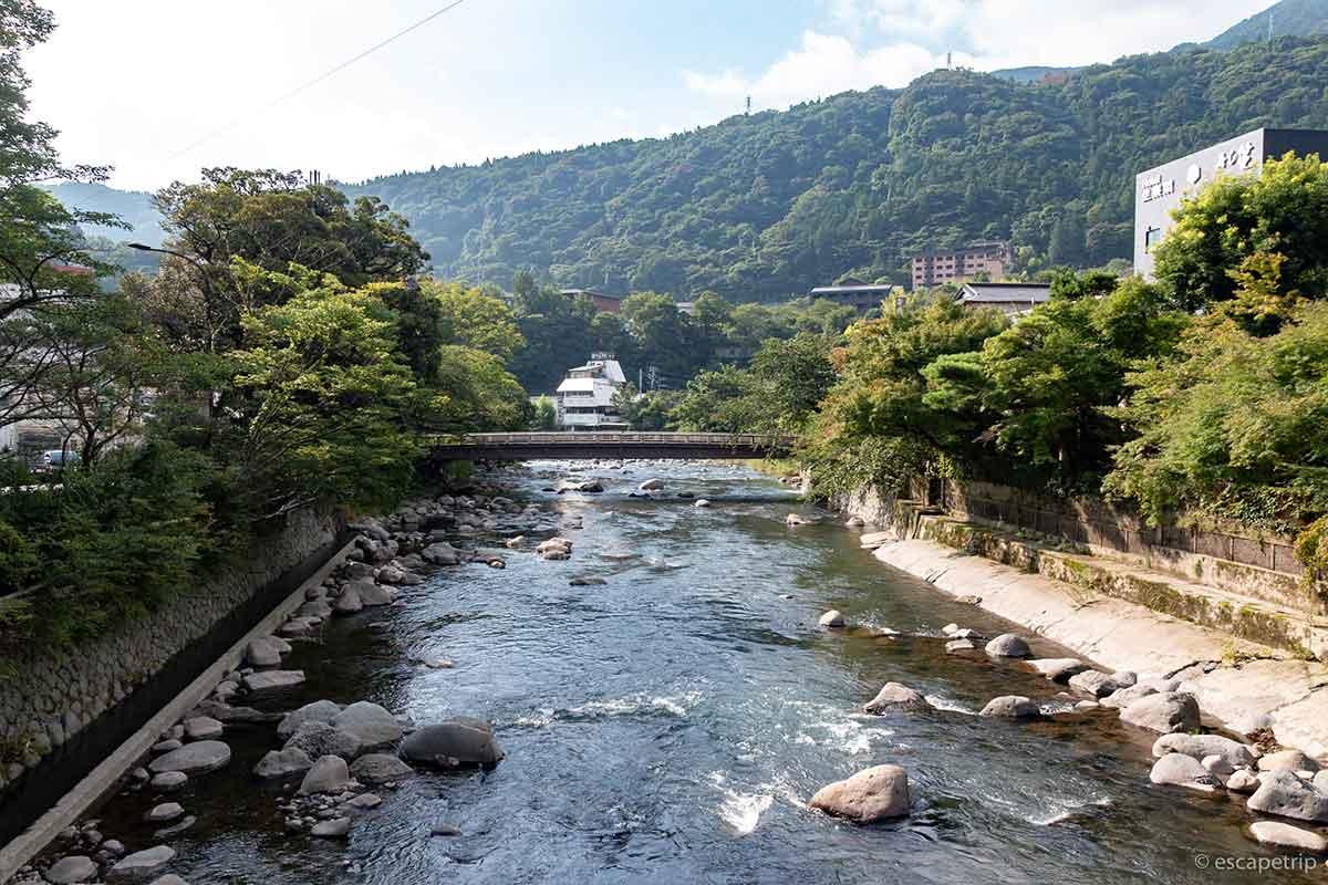箱根湯本の橋