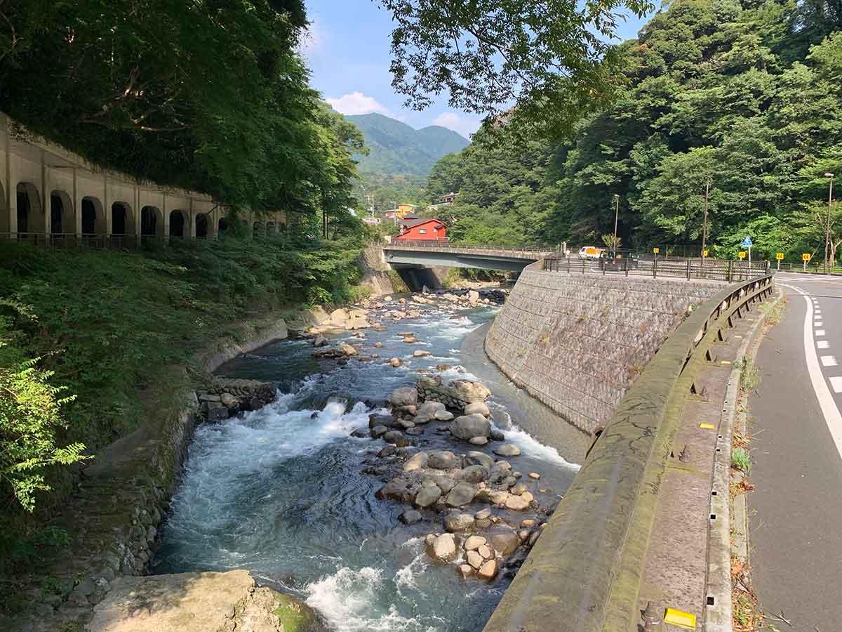 箱根の早川