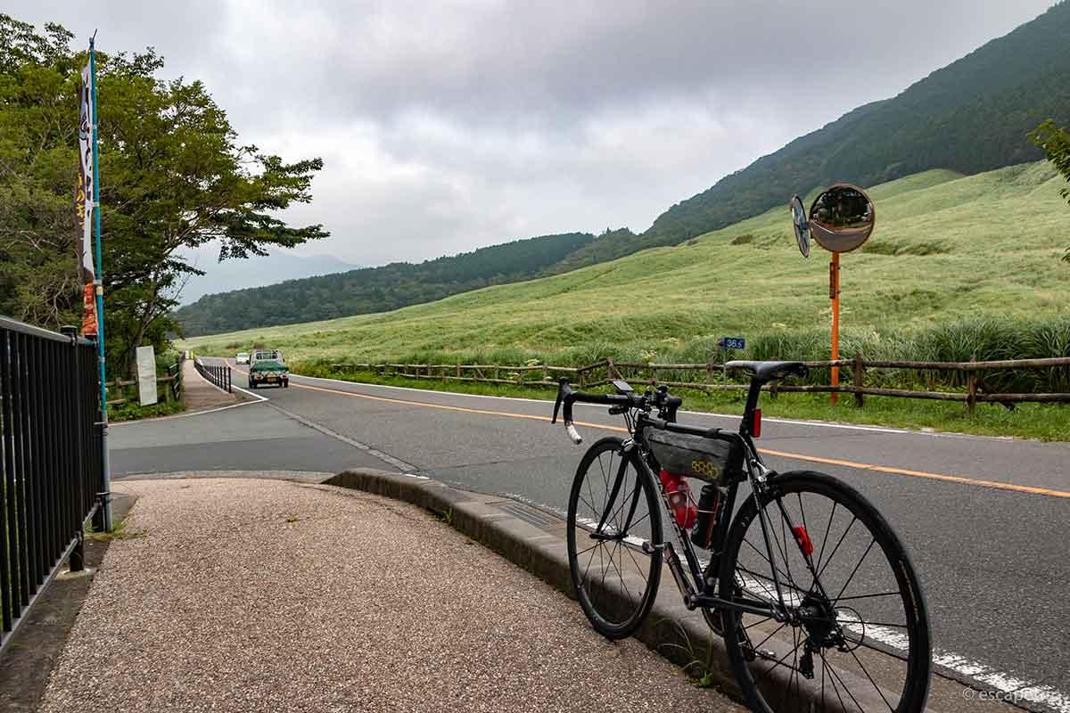 箱根の仙石原とロードバイク