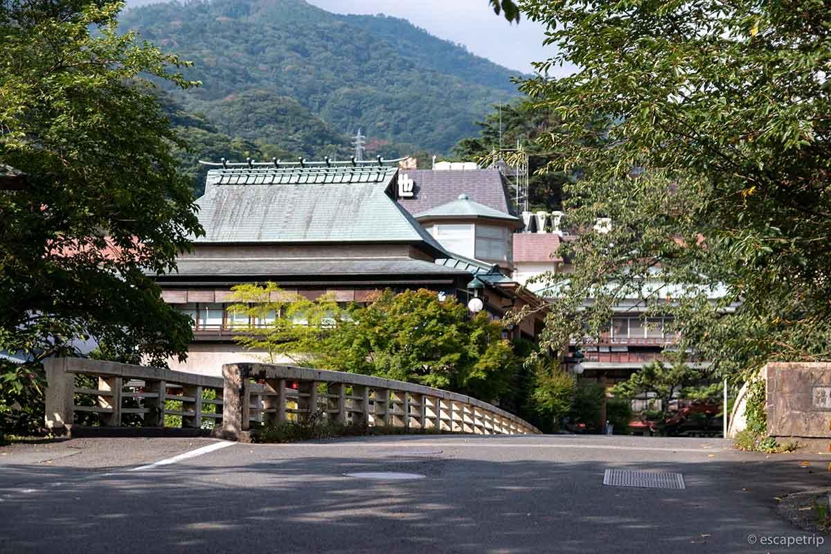 箱根湯本の裏道