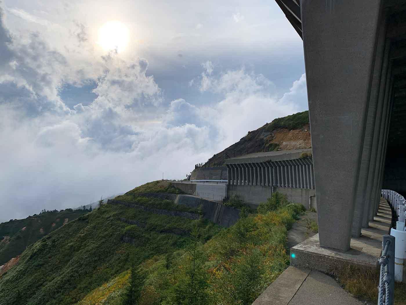 渋峠の風景