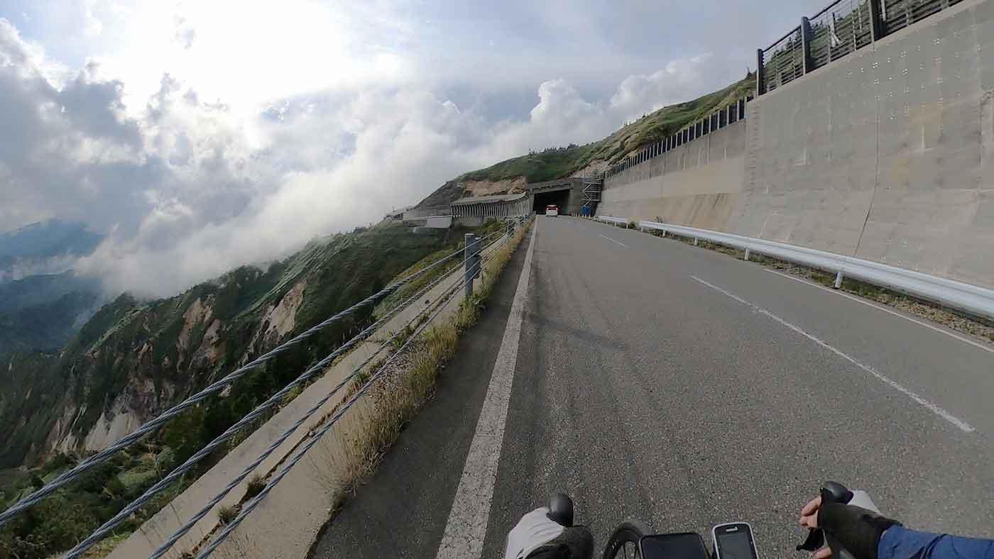 渋峠のGoPro写真